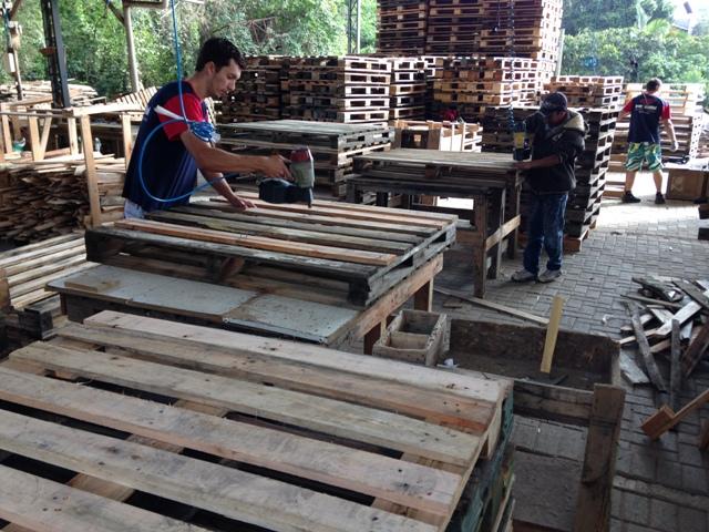 Empresa de Pallets agrega valores reaproveitando a madeira ...